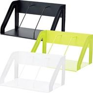 日本 LIHIT LAB. A-7345 鋼製 桌上型 書架 整理架 辦公架
