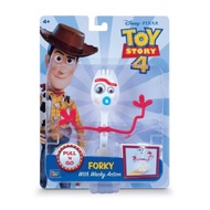 玩具總動員4 Forky 叉奇 迴力車小吊卡