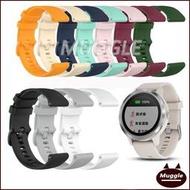 Garmin vivolife悠遊卡智慧手錶錶帶 替換腕帶 vivolife小格紋錶帶 矽膠錶帶 手腕帶