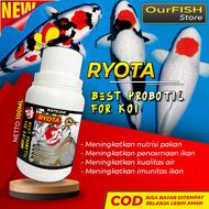 (RYOTA) Vitamin Probiotik Ikan Koi Kohaku Showa Slayer Import Pakan Ikan Koi Blitar Pelet Pellet Makanan Ikan Koi Penjernih Kolam Ikan Koi Penjernih Air Kolam Obat Ikan Hias Koi Murah Sepasang Louhan Arwana Cupang