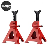 SANCY 3T 2pcs Thickened Car Jack Stand Repair Tool Adjustable Heavy Height Duty Floor Metal Jacks Jek Kereta ??? ????? - Fulfilled by SANCY