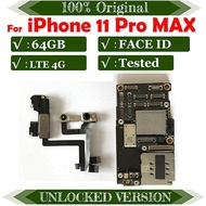 512GB 256GB 64GB Free Shipping For iPhone 11 Pro Max,X,XR,XS MAX,XS Unlocked Clean iCloud Motherboard MB Support iOS Update