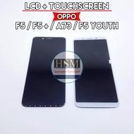 LCD TS OPPO F5 / F5+ / F5 PLUS / F5 YOUTH / A73 FULLSET + TOUCHSCREEN - Hitam