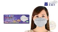 成人超立體4D型氣室活性碳束帶式口罩