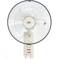 【嘉麗寶】14吋節能雙拉式壁扇(SN-1401A)