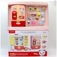 兒童仿真多功能電動音樂冰箱玩具燈光音樂廚房電器過家家玩具套裝