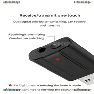 [Ashionmango 0905] 5.0 Bluetooth Transmitter Receiver TV 2 IN 1 3.5mm Stereo Audio USB For Car PC