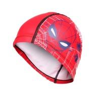 SPEEDO 兒童合成泳帽PACE-蜘蛛人-游泳 戲水 海邊 沙灘 漫威 SD811307F294 紅藍白