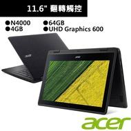 ACER 宏碁 Spin 1 SP111-33-C644 11.6吋 翻轉觸控筆電 (N4000/4G/64G)廠商直送