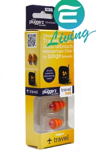 Pluggerz Travel Kids 兒童版飛行耳塞 27dB #72627