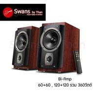 ลำโพง สวอน Swans RM6 2ทาง 2-Ways Active Bookshelf Speaker วัตต์สูงถึง 360วัตต์ RMS รับประกันศูนย์ไทย 1ปี