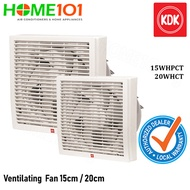 KDK Window Mounted Ventilating Fan 15cm / 20cm [15WHPCT][20WHCT]
