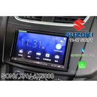 【桃園 聖路易士】SUZUKI SWIFT安裝 SONY XAV-AX5000 CarPlay Android Auto