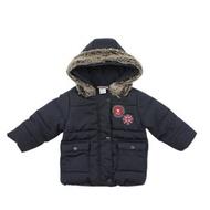 【愛的世界】pappa&ciccia 英倫學院系列防風搖粒絨連帽外套/6~12歲-中國製-