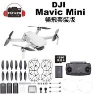 DJI 大疆 空拍機 Mavic Mini 暢飛套裝版 航拍機小飛機空拍機 公司貨 [128G版]