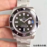 【免運代購】N廠 Rolex 勞力士 黑水鬼 綠水鬼 高端男士精品機械腕錶 勞力士潛艇者 3135機 904