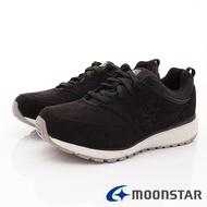 日本月星Moonstar機能男鞋 靜態防水防滑健走鞋 SUM1856黑(男段)