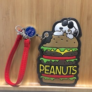 Universal Studios Japan Universal Snoopy Hamburger Ticket Card Holder Swim Card Holder