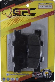 GPC Motorcycle Brake Pads (Brake Disc Pads) for KYMCO Like 150 Front, Racing 150 Front & Rear, RacingKing 180i Front