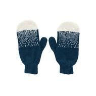 【換季特賣】Mountain Peak 純羊毛手套-藍 | Donna Wilson