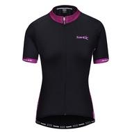 SANTIC LCT040 AKA女款短袖七分套裝(含車衣車褲)【飛輪單車】