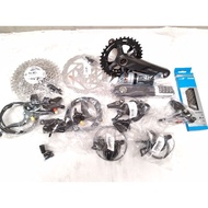 Bicycle Components - Groupset Shimano Deore 2x10speed M4100 Complete