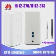 ใหม่ Huawei 5G CPE Pro H112-370 H112-373 5G NSA + SA (N41/N77/N78/N79) LTE CPE Router ไร้สาย Pk Huawei B818