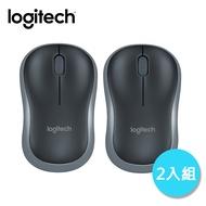 【2入組】Logitech 羅技 M186 無線滑鼠