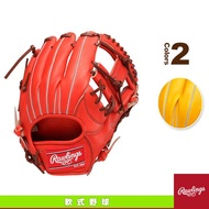 """#Rawlings GR6HO6L-ROR Rawlings""""剛""""即戰型棒球手套11.5""""橘紅色(右投用)"""