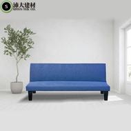 沙發床 亞麻布 布沙發床 雙人沙發 摺疊沙發 懶人沙發 單人沙發 客廳沙發 非IKEA 宜家【U44】