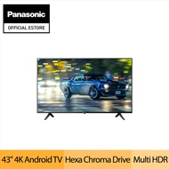 [Pre-order] *NEW* Panasonic TH-43HX655S 43 inch 4K LED Android Smart TV ( *with 39 months warranty) (Ship by 25 Nov)