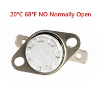 Ready stock* 1pcs,KSD301 Temperature N/O NO Normally Open Controlled Control Switch 20°C 68°F