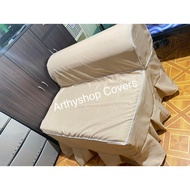 (SOFA POSITION) Seat Cover for URATEX Foam Sofa Beds (*Cream only)