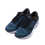 【免運現折$250】MIZUNO WAVE RIDER WAVEKNIT 3 慢跑鞋 藍黑黃 J1GC192912 男鞋