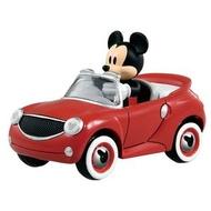 大賀屋 日貨 米奇 跑車 妙妙車隊 小汽車 Tomica 多美 多美小汽車 合金車 玩具車 正版 L00011168