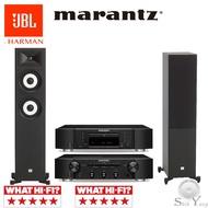 Marantz CD6007 CD播放機 + PM6007 綜合擴大機+ JBL STAGE A180 落地喇叭 公司貨