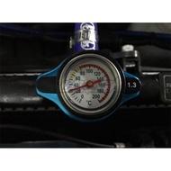 汽車摩托越野改裝通用水箱蓋帶水溫表測溫度水箱壓力蓋小號水箱蓋