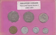 Philippine Coins - Flora and Fauna Series Type 1