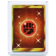 美版英文 Pokemon TCG 神奇寶貝 遊戲卡 能量 格鬥 全圖浮雕 金能量 SP