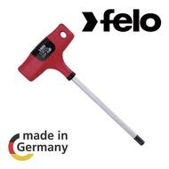 【FELO】T型膠柄六角板手5X150mm(六角板手)