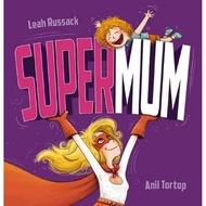 【麥克書店】SUPER MUM|英文故事繪本|主題:母親節