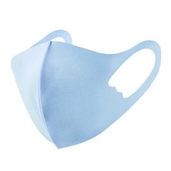 兒童3D立體冰絲棉透氣掛耳防塵口罩_明星同款_可水洗_水藍★其它