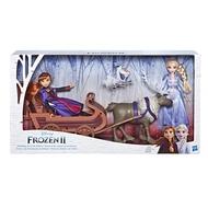 P-【FROZEN 冰雪奇緣】12吋公主(冰雪奇緣2公主與小斯及雪橇豪華場景組)