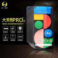 【o-one大螢膜PRO】Google Pixel 4a 5G 滿版全膠手機螢幕保護貼(SGS環保無毒 超跑頂級犀牛皮 台灣製)