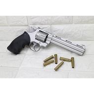 UHC 6吋 左輪 手槍 空氣槍 銀 ( BB槍BB彈玩具槍蟒蛇牛仔城市獵人左輪槍 PYTHON M357 M586