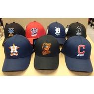 小羊正品 MLB 金鶯 太空人 國民 印第安人 洋基 老虎 大都會 大logo 老帽