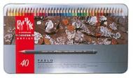瑞士Caran d'Ache卡達專家級PABLO油性40色彩色鉛筆盒*666.440