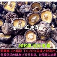 滿額超取免運 今年現採 小中 新社香菇 乾香菇 新社金城香菇 送禮(小中一斤