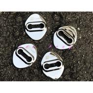 涔峰CF☆(白金)19年 FOCUS MK4 不鏽鋼門鎖扣蓋 門鎖扣保護蓋 六角鎖扣蓋 六角鎖保護蓋 美觀 裝飾