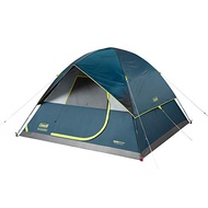 Coleman Camping Tent   6-Person Dark Room Dome Camping Tent with -US